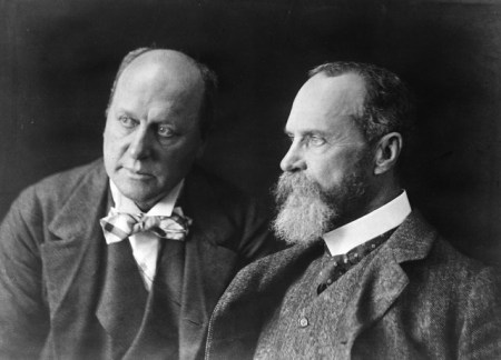 Manos refelction photo Henry and william james